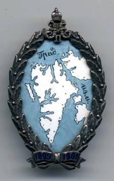 Spitzbergen Badge in Silver (avers)